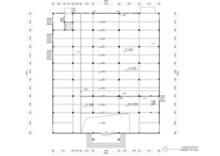 [浙江]方泰电器公司办公楼施工图+效果图