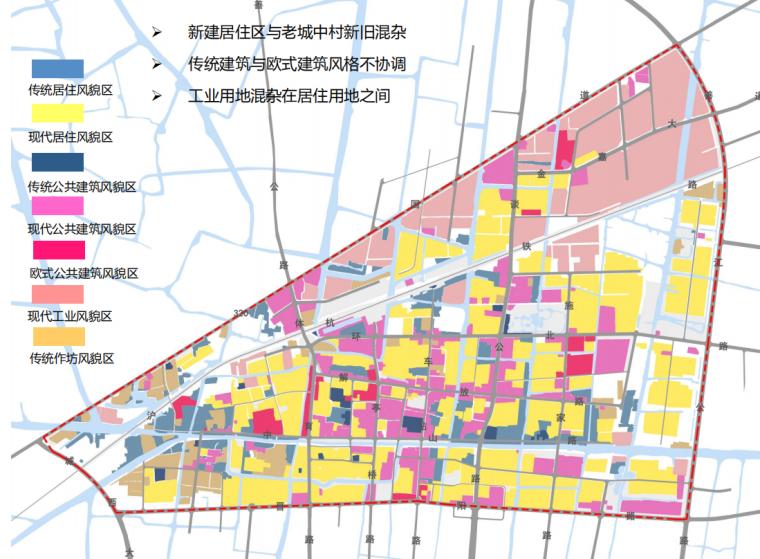 [浙江]嘉善县老城区城市双修村镇规划文本