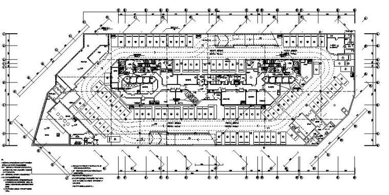 北京住宅区配套商业及办公楼电气施工图