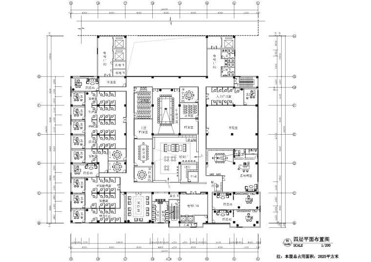 [厦门]GGB-金德威科技园二期施工图+效果图