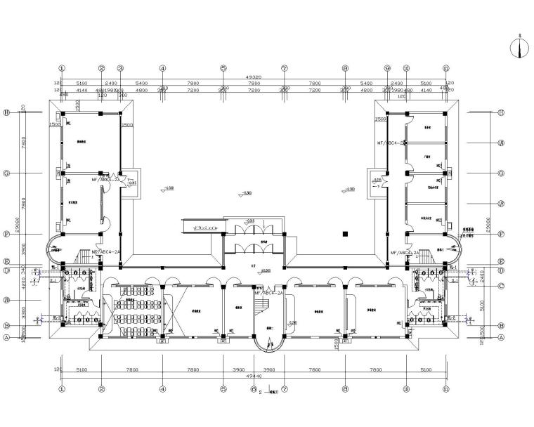 学校教学楼宿舍楼给排水设计施工图