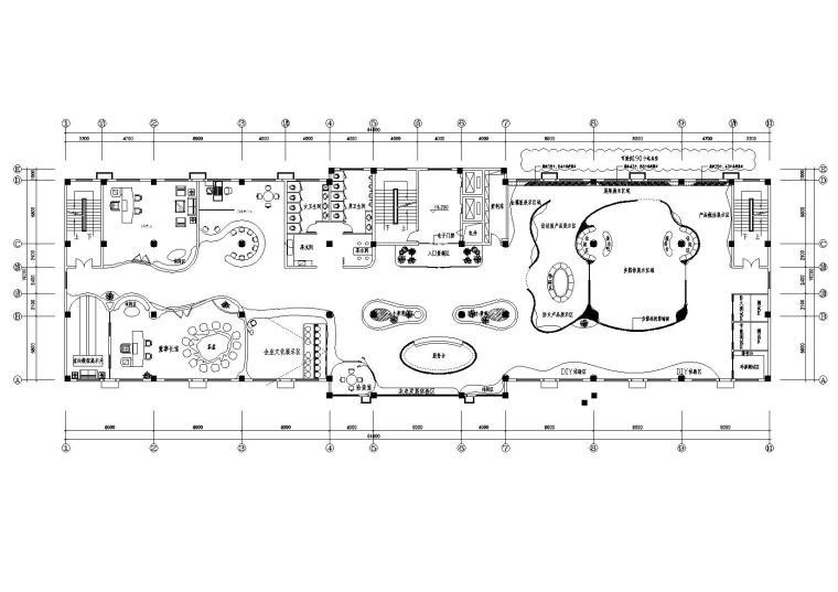 鹏程住工工业化材料有限公司办公空间施工图