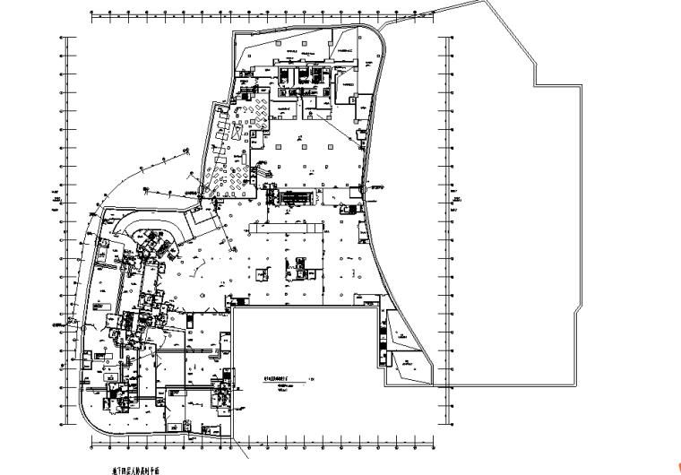 广州商业综合体电气图纸含商业、办公、人防