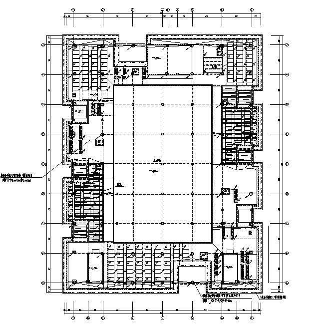 浙江高层住宅及商业办公楼强弱电施工图纸