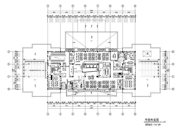 曾建龙办公室CAD全套施工图+效果图