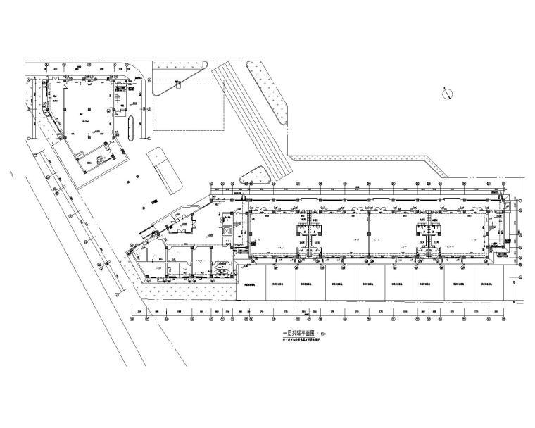 幼儿园供暖、通风、防排烟系统设计施工图