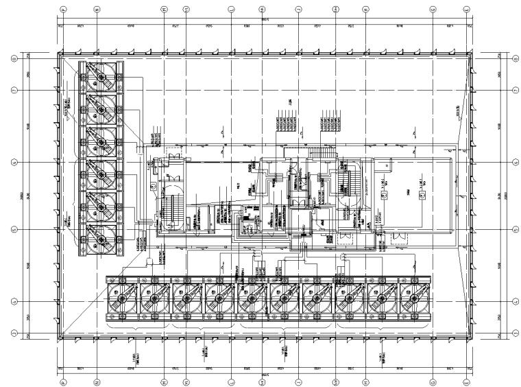 广东双子办公塔楼及商业裙房电气施工图