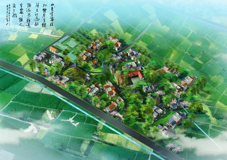 [四川]郫县花牌村农村聚居新型社区规划文本