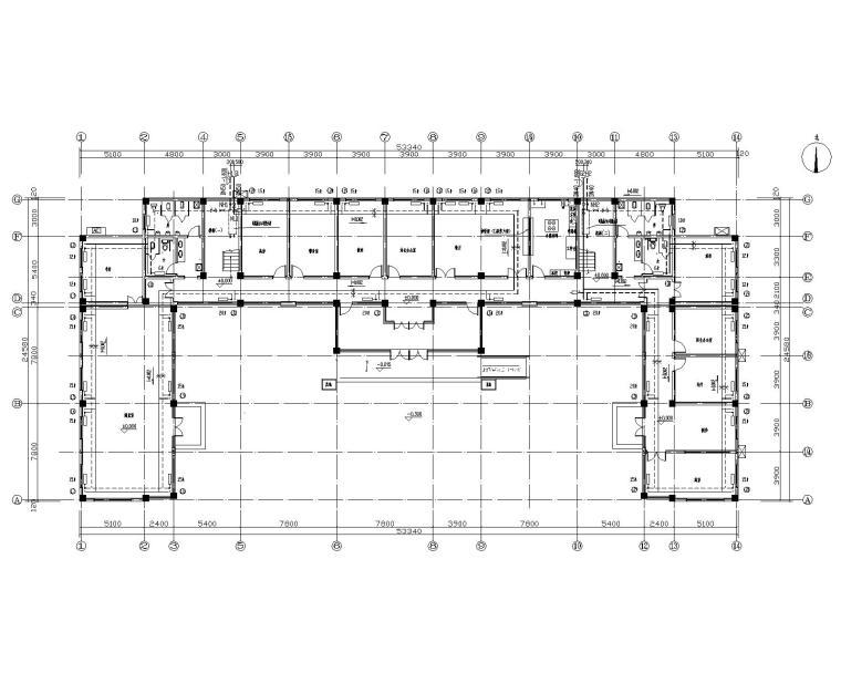 村委会办公大楼暖通系统设计图纸