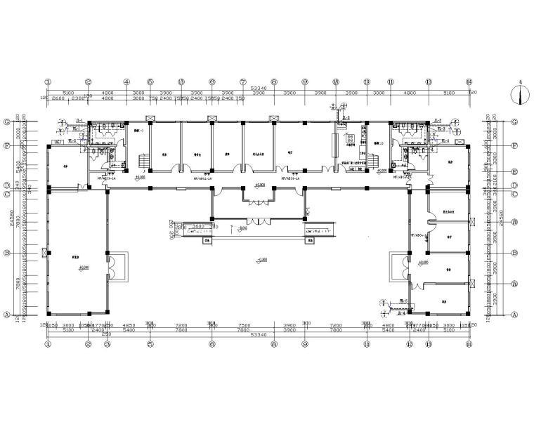 村委会办公大楼给排水系统设计图纸