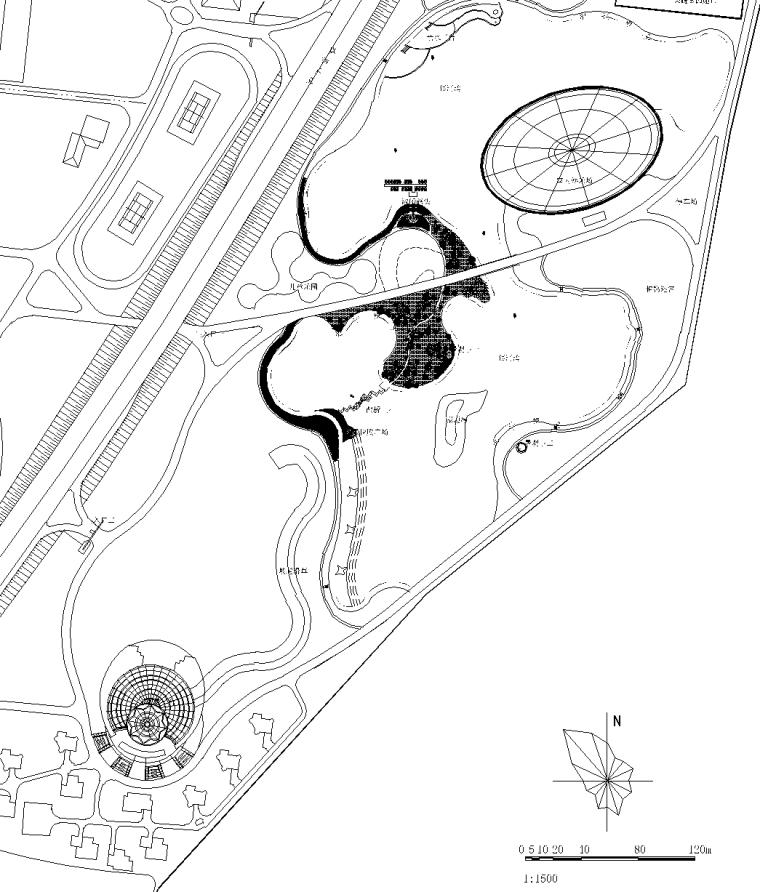 [辽宁]大连银河湾生态旅游园景观施工图