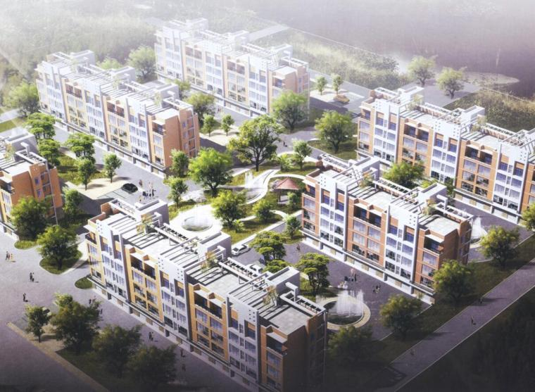 [河北]沧州青县新农村聚居改造规划CAD图纸