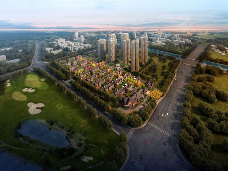 [天津]天津万科仕林苑入口商业建筑设计