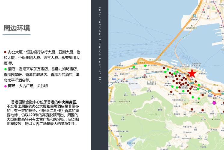 香港IFC城市综合体案例分析