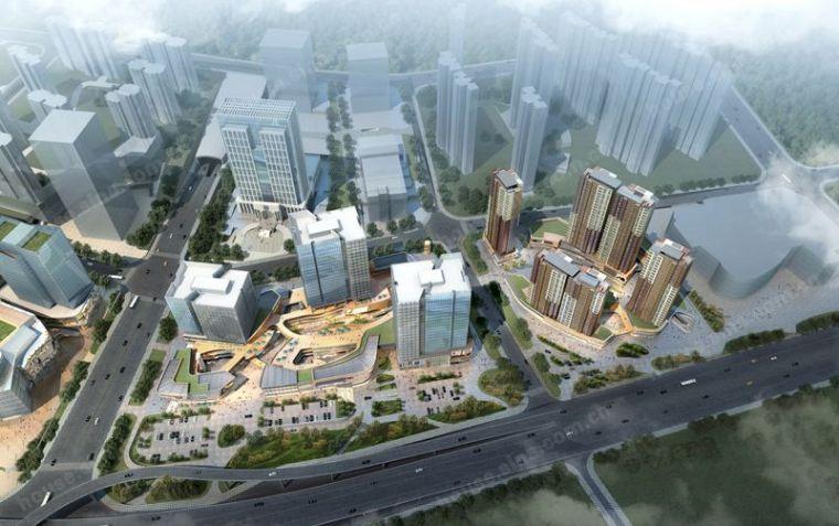 [福建]万科中心汇创国际建筑模型设计
