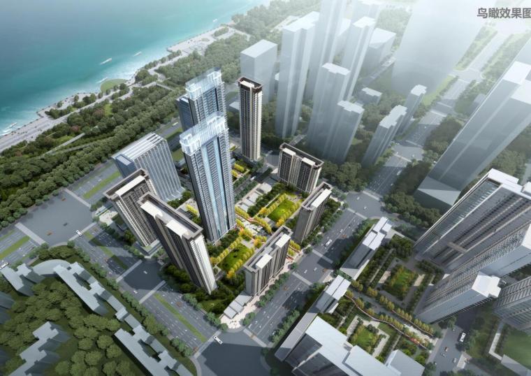[湖北]新古典风格金融中心建筑概念设计