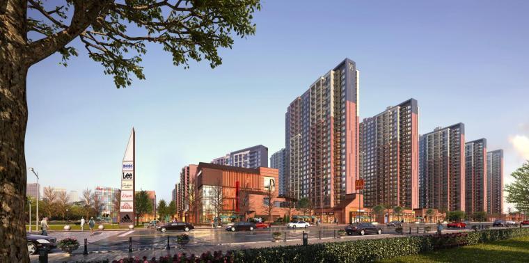 [上海新古典风格闵行万科城建筑模型设计