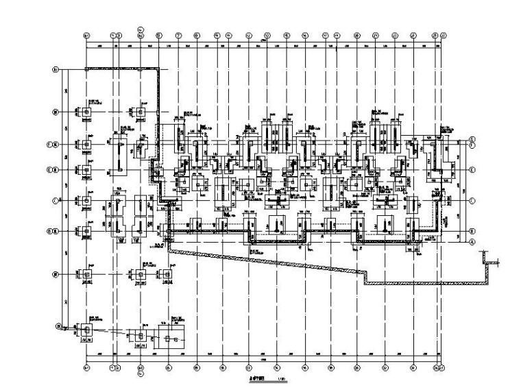 9栋剪力墙结构住宅楼建筑结构施工图