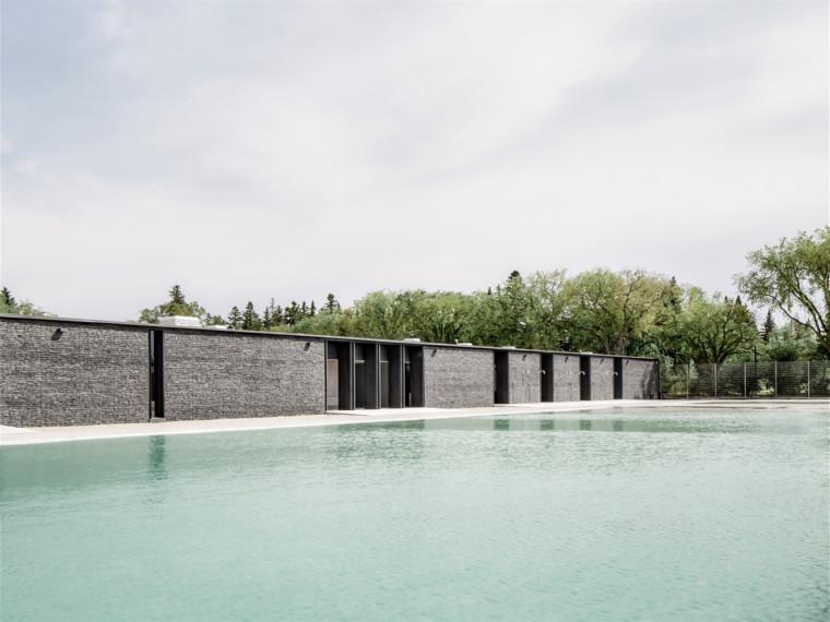 加拿大波登公园自然游泳池