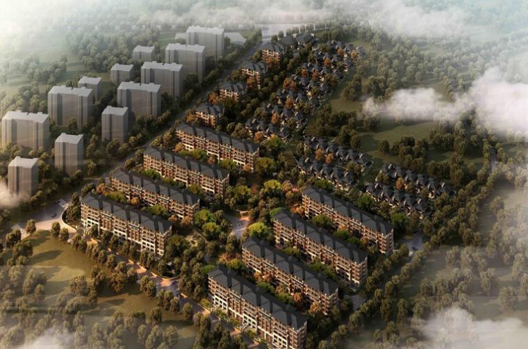 [江西]南昌万科润园建筑模型设计