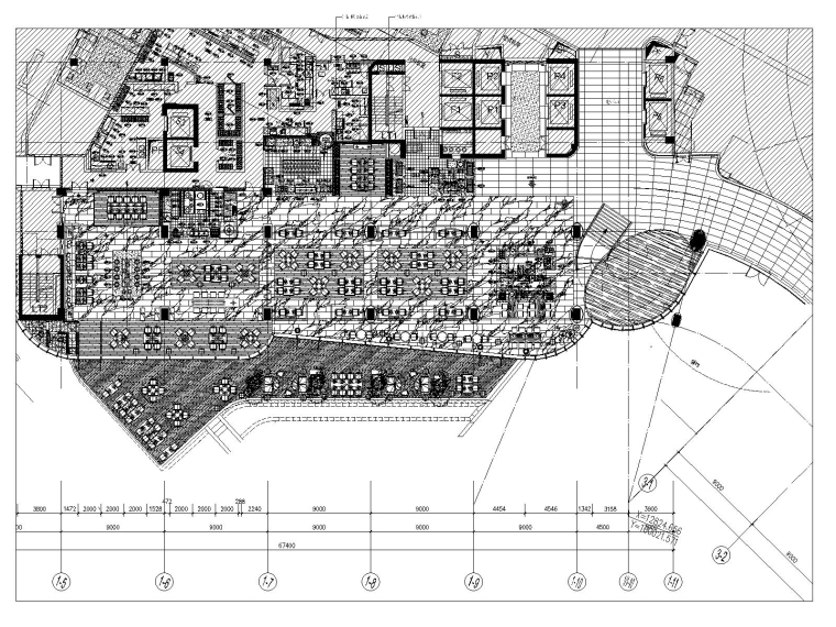 [广东]希尔顿南海酒店主楼施工图+设计方案
