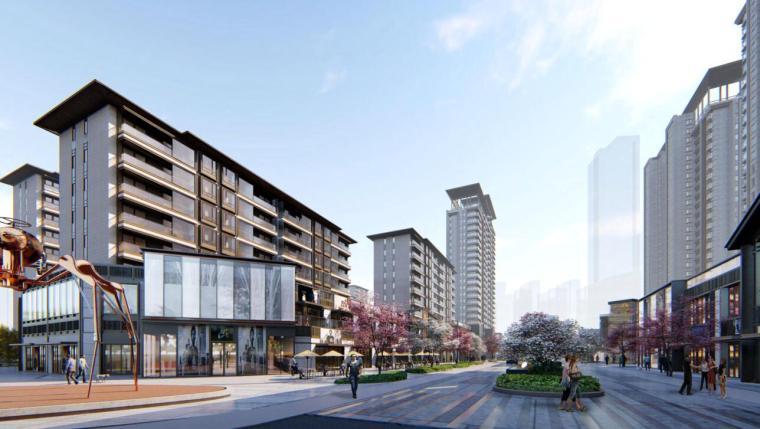 [江苏]现代中式风格高层、洋房豪宅建筑