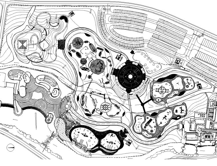 [江西]圣井山精灵乐园景观CAD施工图