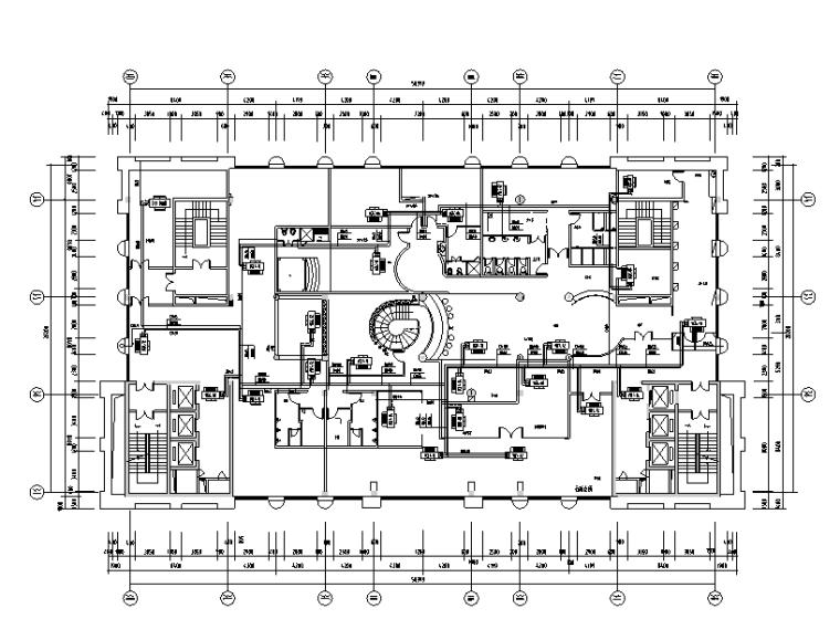 十五层综合性酒店暖通设计施工图