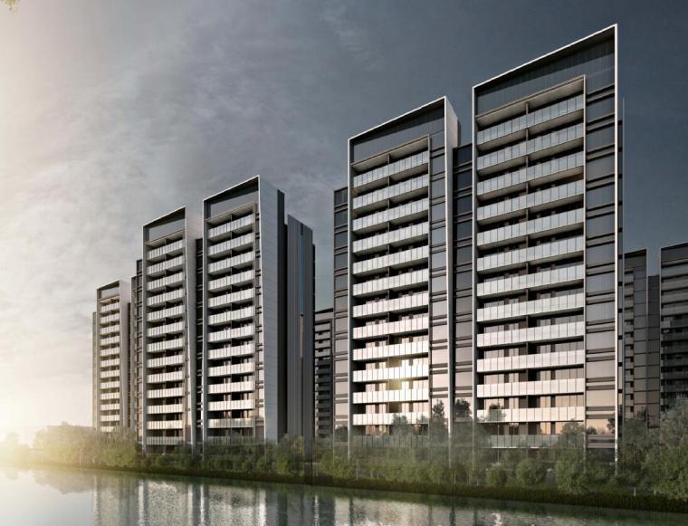 [上海]现代风格豪宅建筑方案文本