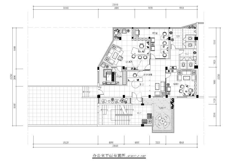 [闽清]雄仔贸易有限公司工程装饰设计施工图