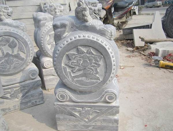 抱鼓石——中式传统建筑的经典构件
