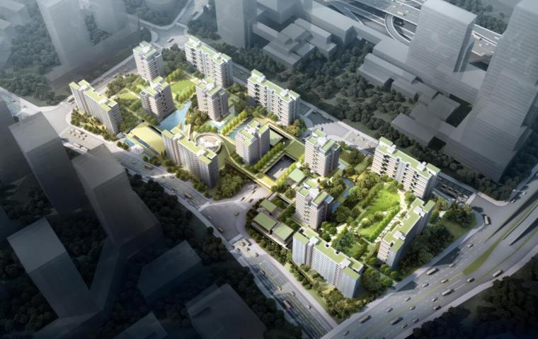 [重庆]现代山地小高层洋房豪宅设计