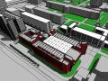 同济大学建筑与城市规划学院3大楼建筑模型