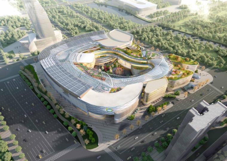 苏宁广场商业综合体规划设计投标方案DCI