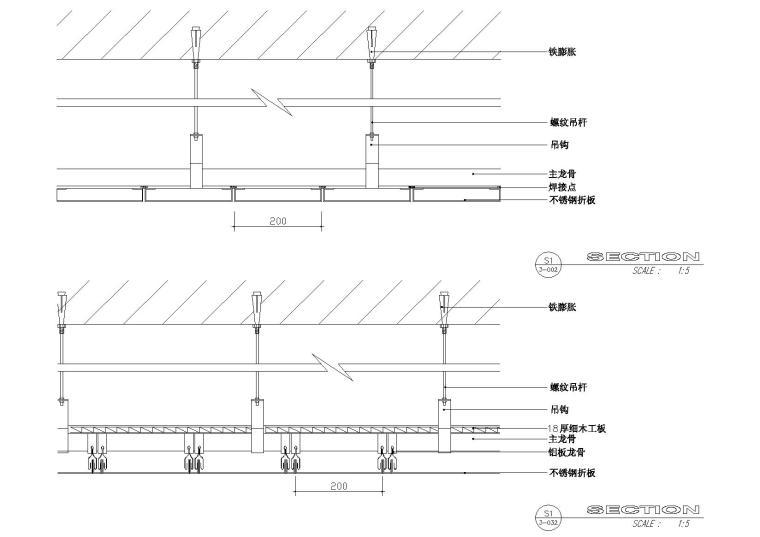 节点分析9:轻钢龙骨吊顶