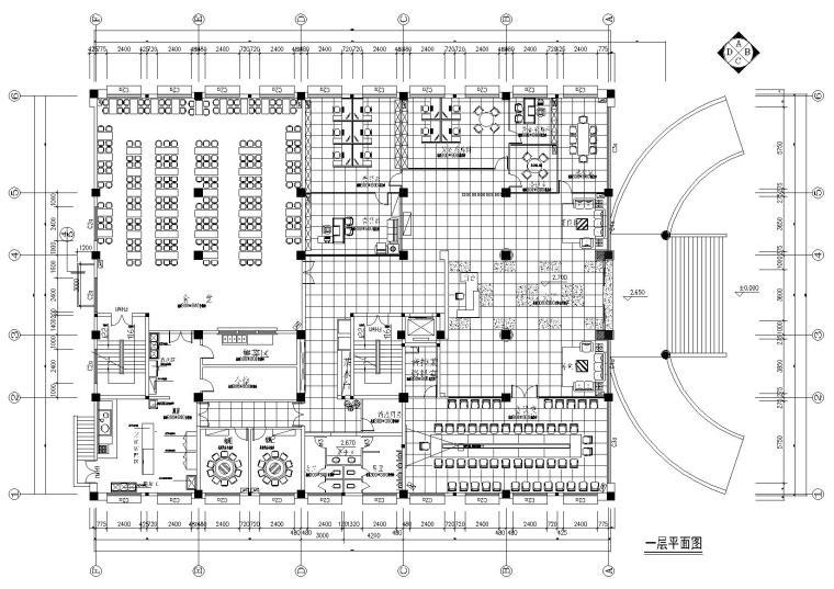 [浙江]宁波可人集团办公大楼施工图+效果图