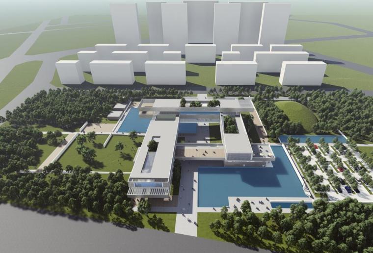 [陕西]洪庆售楼部及展览区项目方案一