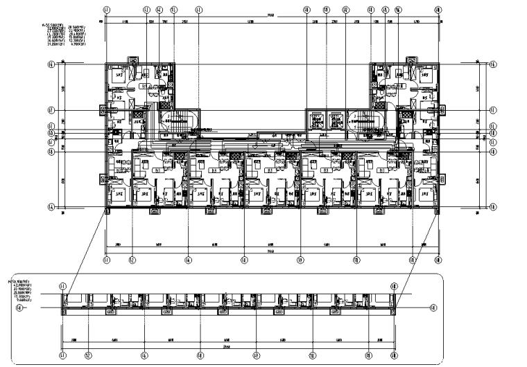 北京大型住宅及配套公建电气施工图