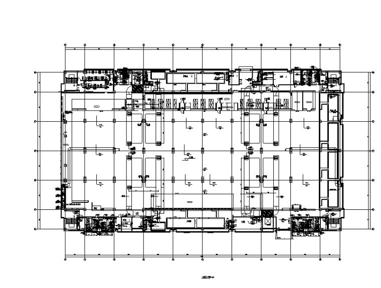 华为南方净化工厂暖通设计施工图