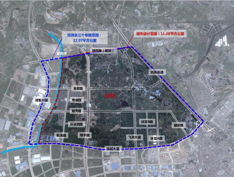 [江苏]南京禄口新城控制性详细规划图纸