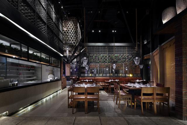 川菜餐厅设计,火锅餐厅设计