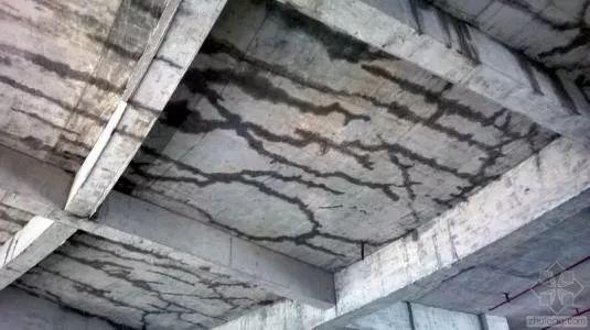 多种混凝土裂缝形成原因和处理方法