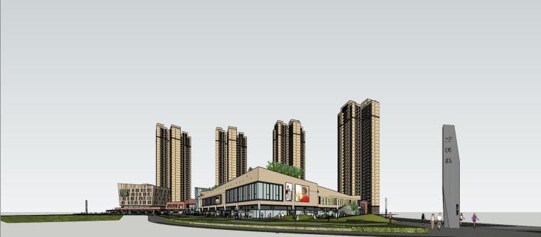 万科里 万科城 商业+高层+入口 (28)