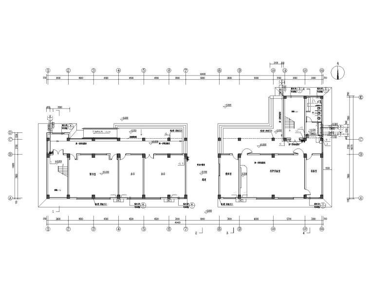 小学综合楼给排水设计施工图