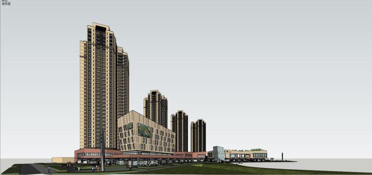 万科里 万科城 商业+高层+入口 (29)