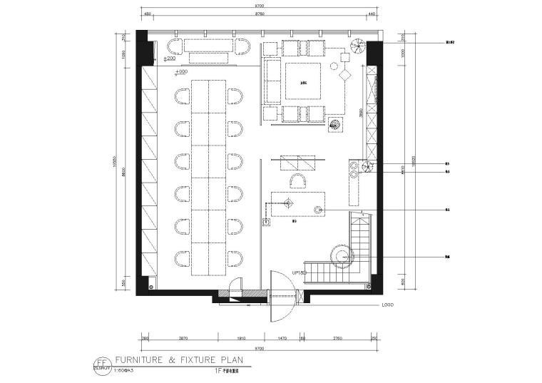 [新疆]大木叙品-时代广场25楼H号空间施工图