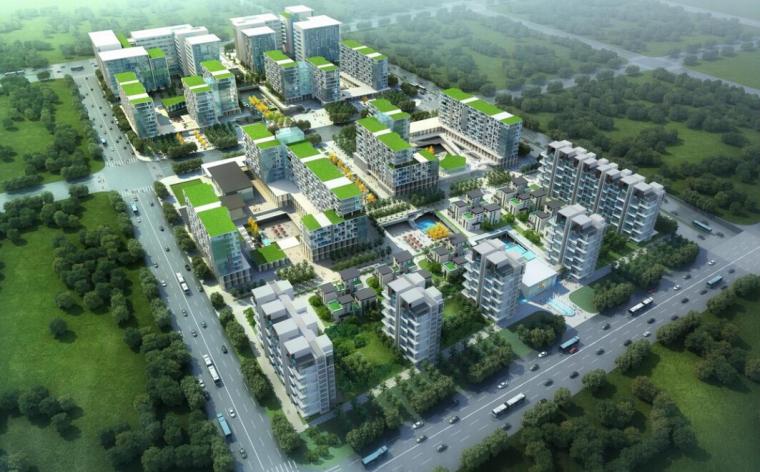 [上海]现代风格住宅建筑模型设计