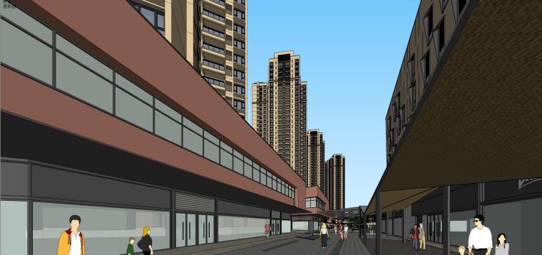 万科里 万科城 商业+高层+入口 (3)