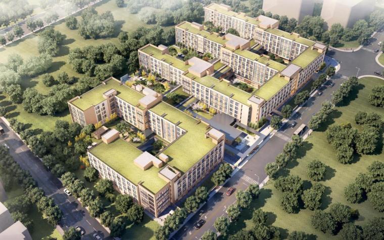 华润北京市昌平区北七家镇建筑设计方案