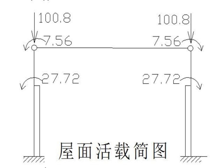单层厂房排架结构课程设计计算书